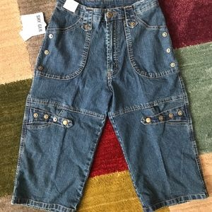 Cute Denim Bermuda Jeans